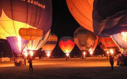 NZMTG Masterton Balloon Festival Park Over