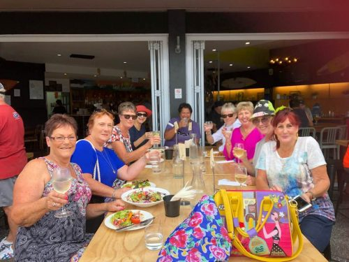 NZMTG Ladies Beach Hop Shopping & Lunch Outing